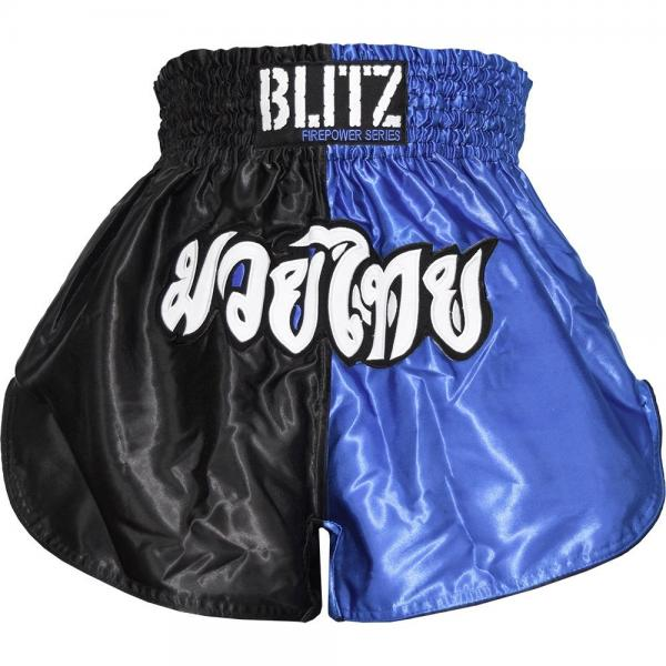 Muay Thai Shorts Blå