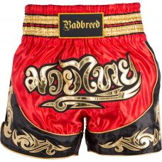 Bad Breed Python Muay Thai Shorts Rød