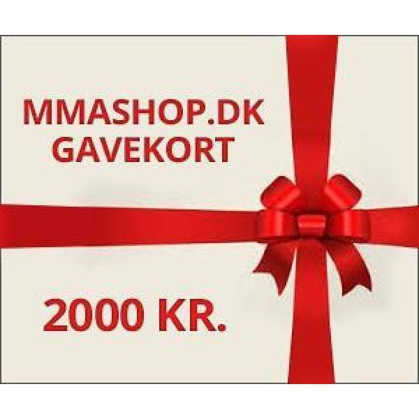 Image of   Gavekort 2000 Kr.
