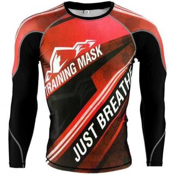 Image of   Elevation Training Mask kompression Shirt Rød