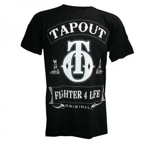 Image of   Tapout Fighter 4 Life T-Shirt