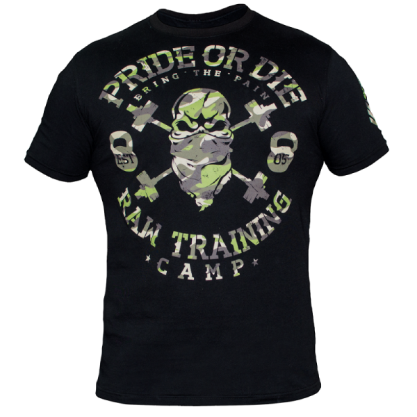 Image of   Pride Or Die Raw Training T-Shirt