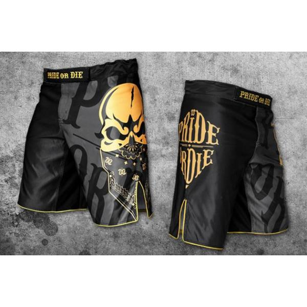 Image of   Pride Or Die - Reckless MMA Shorts