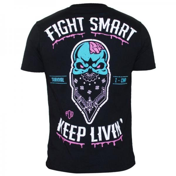 Image of   Pride Or Die Fight Smart T-Shirt