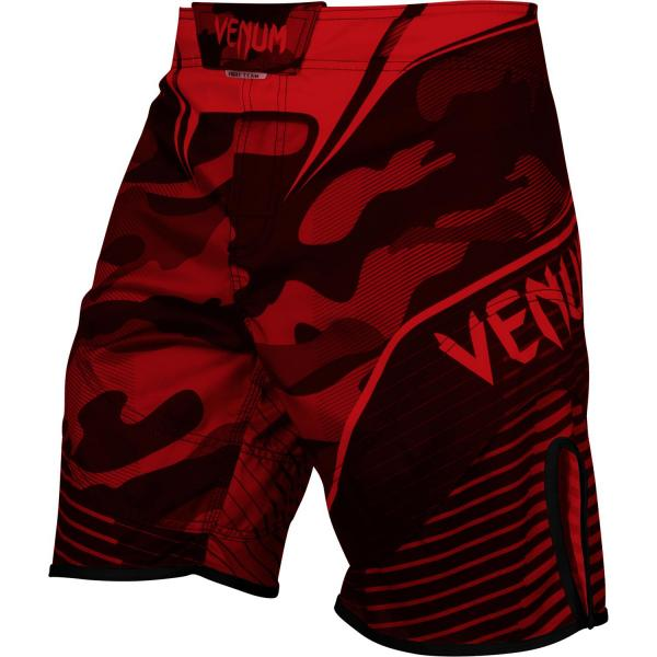 MMA Shorts Venum Camo Hero Red