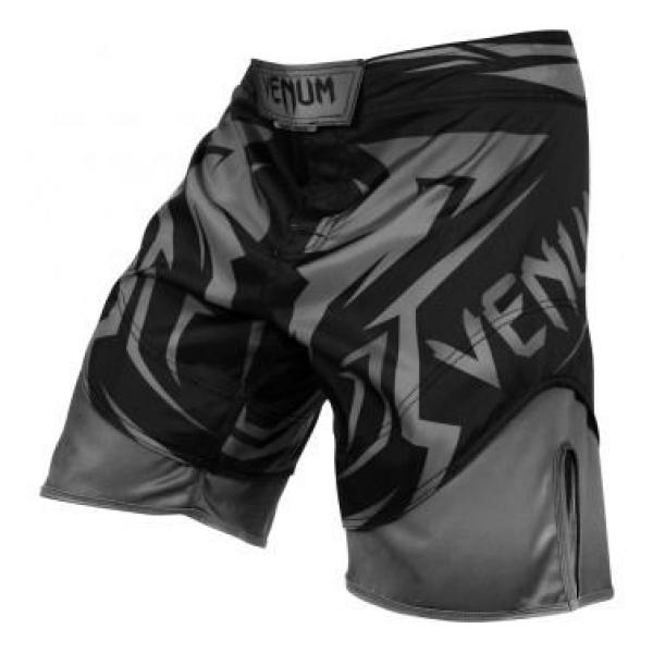 Image of   Venum MMA Shorts Shadow Hunter Silver