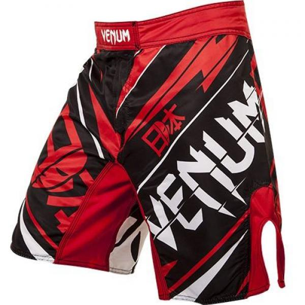 Venum UFC Japan MMA Shorts Sort-Rød