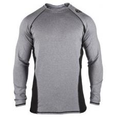 Clinch Gear Flex Long Sleeve Tech Top Grey