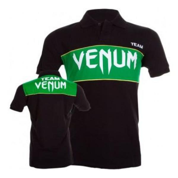 Image of   Team Venum Polo Sort Grøn