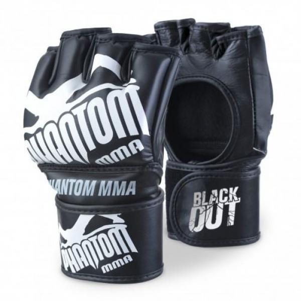 Image of   Phantom MMA Handsker Sort PU